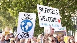 Akcja w centrum Warszawy: 'Witamy uchodźców'! - miniaturka