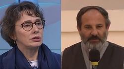 Agnieszka Romaszewska do ks. Isakowicza-Zaleskiego: Oj, bo się ksiądz doigra sprawy sądowej. Proszę to usunąć!!! - miniaturka