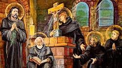 Oddali życie za Chrystusa. Pierwsi męczennicy Polski - Benedykt, Jan, Mateusz, Izaak i Krystyn - miniaturka