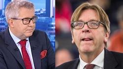 Ryszard Czarnecki: Verhofstadt  najadł się szaleju! Jego atak na prezesa PiS jest moralnie obrzydliwy - miniaturka