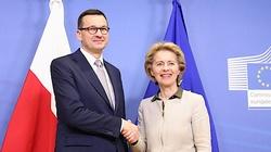 Premier Morawiecki rozmawiał z szefową KE. ,,Konstruktywne spotkanie'' - miniaturka