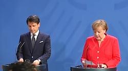 Ujawniono prywatną rozmowę Angeli Merkel z premierem Włoch Giuseppe Contim. Obawia się Salviniego? - miniaturka