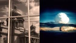 W petersburskiej cerkwi śpiewano o bombie atomowej na USA - miniaturka