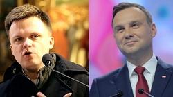 Sondaż: Hołownia nie ma szans w starciu z Andrzejem Dudą - miniaturka