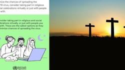 WHO: neutralność religijna - krzyż obraża, ale półksiężyc i gwiazda Dawida nie? - miniaturka