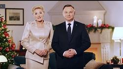 Para Prezydencka składa bożonarodzeniowe życzenia. ,,Wszystkiego najlepszego, Drodzy Rodacy!'' - miniaturka