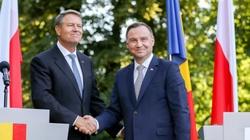Trójmorze, NATO, UE. Prezydent Rumunii w Polsce - miniaturka