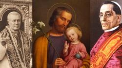 Co o św. Józefie, patronie ludzi pracy, mówili dawniejsi papieże? - miniaturka