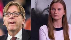 Szczyt bezczelności! Verhofstadt znowu straszy Polskę - chodzi o Kozłowską - miniaturka