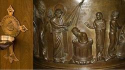 Czy wychodząc z kościoła należy żegnać się wodą święconą? - miniaturka