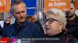,,Błyskotliwa inteligencja'' Krzywonos. Tramwajarka pogardliwie o Polakach. Internauci bezlitośni! - miniaturka