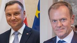 Andrzej Duda zaorał Tuska. Celna riposta prezydenta - miniaturka