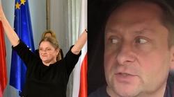 Prof. Krystyna Pawłowicz dała Durczokowi lekcję kultury - miniaturka