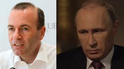 Weber: Trzeba wstrzymać budowę Nord Stream 2. Putin rozumie tylko język siły - miniaturka