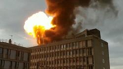 Lyon: Potężna eksplozja i pożar! [ZOBACZ] - miniaturka
