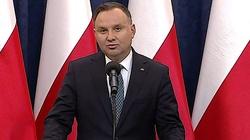 NA ŻYWO! Briefing prasowy prezydenta Andrzeja Dudy - miniaturka