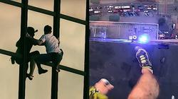 To wideo mrozi krew w żyłach!!! Polak wszedł na Hotel Marriott bez zabezpieczeń - miniaturka