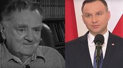 Prezydent Duda o zmarłym premierze Janie Olszewskim: Służył Polsce do ostatniej chwili - miniaturka