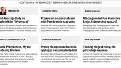 Jak czytelnicy Wyborczej odpowiadają na list prezydenta Andrzeja Dudy... - miniaturka