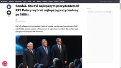 Lech Kaczyński i Andrzej Duda ocenzurowani w Wyborczej? Najlepszy prezydent... - miniaturka