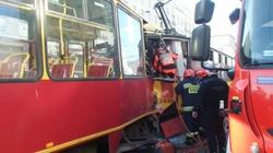 Na Woli doszło do wypadku tramwajów. 11 osób rannych - miniaturka