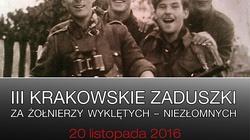 Krakowskie Zaduszki za Wyklętych - zapraszamy 20 listopada! - miniaturka