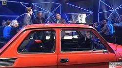 Żakowski wywiązał się z zakładu. Zwycięzca otrzymał Fiata 126p - miniaturka