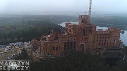 Nadzór budowlany wstrzymał budowę zamku w Stobnicy - miniaturka