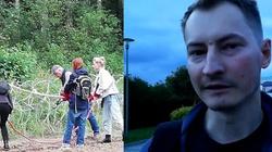 ,,Zamach na obiekt o znaczeniu obronnym''. Kolejne zawiadomienie przeciwko grupie niszczącej zasieki na granicy z Białorusią - miniaturka