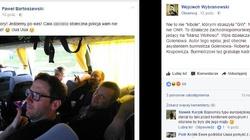Skandaliczny wpis działacza PO: Pisiory, jedziemy po was! Cała zas*ana policja wam nie pomoże! - miniaturka