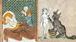 Zdrada małżeńska w średniowieczu - miniaturka