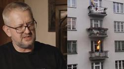 Ziemkiewicz o podpaleniu mieszkania podczas marszu: ,,ewidentnie podpalenie śmietnika pod rosyjską ambasadą v.2, poprawiona'' - miniaturka