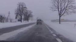 Zima zaskoczyła drogowców... jak zawsze - miniaturka