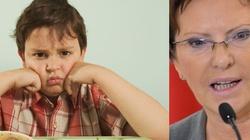 Terlikowska: Od grubaska do anorektyka. Żywienie dzieci według Ewy Kopacz - miniaturka