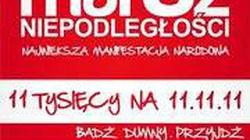 """""""Marsz Niepodległości: obawy zostawmy tchórzom!"""" - miniaturka"""