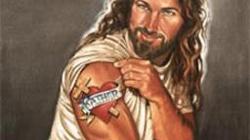 Jezus jako harleyowiec - miniaturka